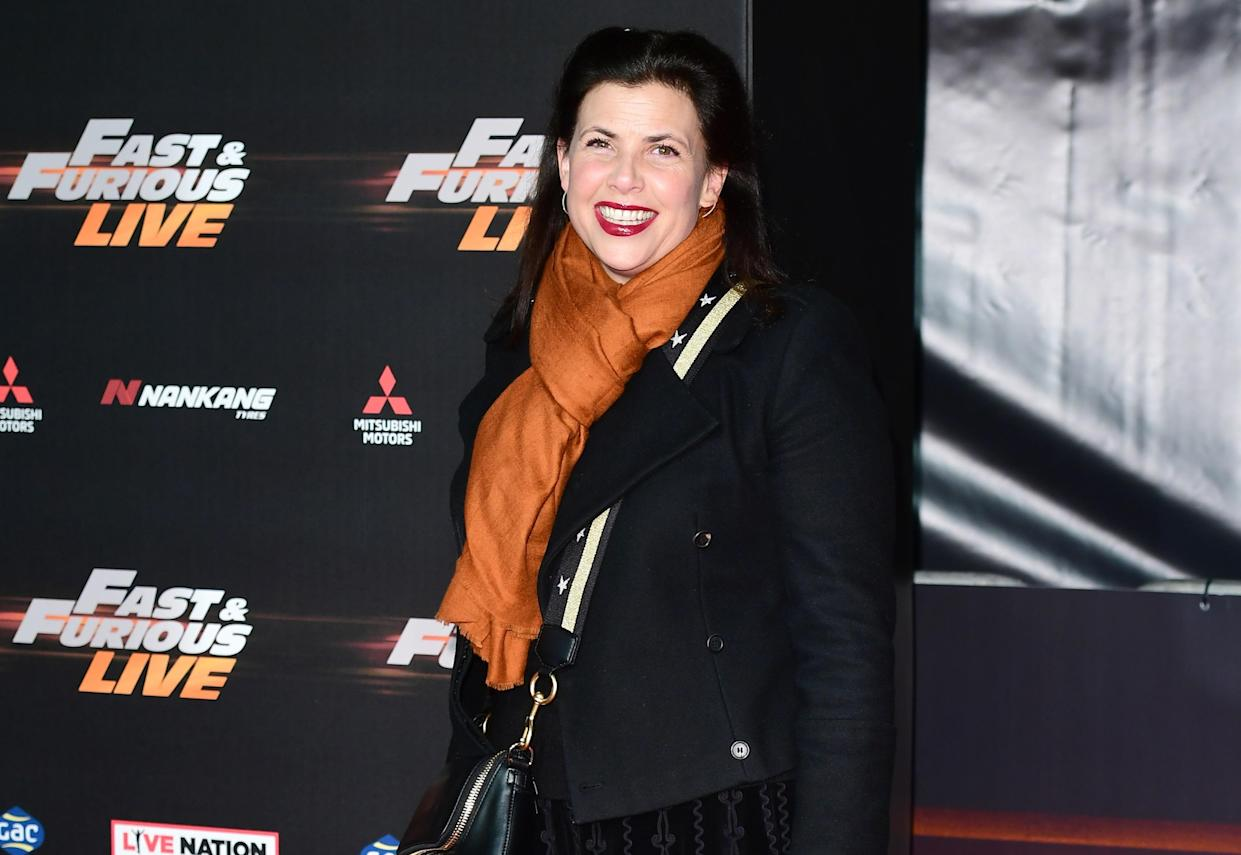 Kirstie Allsopp attending the World Premiere of Fast & Furious Live. (PA)