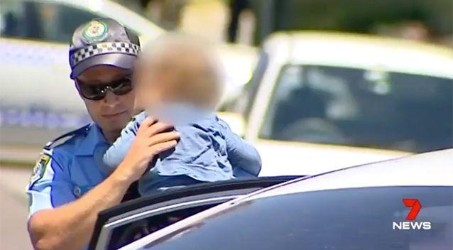 The boy was thankfully unharmed. Source: 7 News