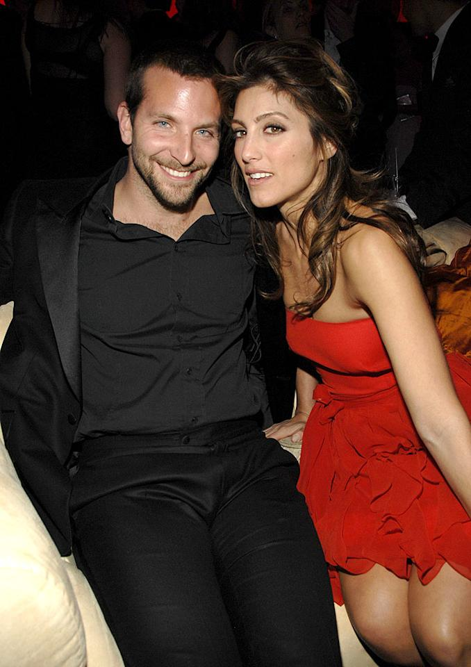 "Bradley Cooper and Jennifer Esposito were hot and heavy before things cooled off in their relationship. Jennifer filed for divorce after only four months of marriage. Kevin Mazur/<a href=""http://www.wireimage.com"" target=""new"">WireImage.com</a> - January 15, 2007"