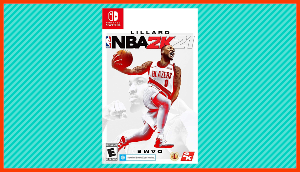 Save half on NBA 2K21. (Photo: Amazon)