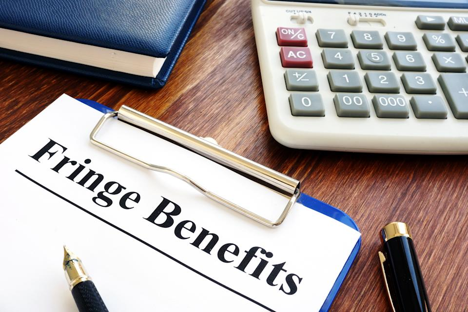 How to manage fringe benefits tax at tax time. Source: Getty