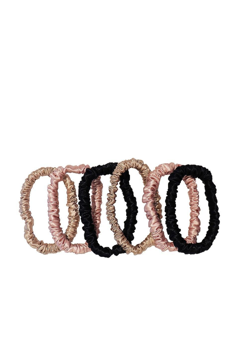 <p>These <span>Slip Skinnie Scrunchies</span> ($39 for six) are good to have around.</p>