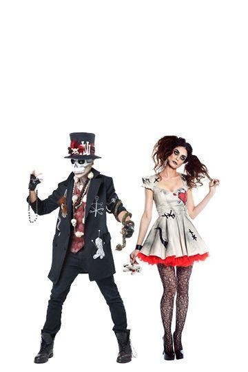 """<p>There's a reason so many horror movies center around freaky dolls. With these costumes, you don't have to make much effort to come off super creepy.</p><p><strong><a class=""""link rapid-noclick-resp"""" href=""""https://www.amazon.com/California-Costumes-Womens-Voodoo-Costume/dp/B00ZJD3KIM?tag=syn-yahoo-20&ascsubtag=%5Bartid%7C10070.g.28669645%5Bsrc%7Cyahoo-us"""" rel=""""nofollow noopener"""" target=""""_blank"""" data-ylk=""""slk:Shop Women's Costume"""">Shop Women's Costume</a></strong></p><p><strong><a class=""""link rapid-noclick-resp"""" href=""""https://www.amazon.com/California-Costumes-Voodoo-Burgundy-X-Large/dp/B01BC8S3F2?tag=syn-yahoo-20&ascsubtag=%5Bartid%7C10070.g.28669645%5Bsrc%7Cyahoo-us"""" rel=""""nofollow noopener"""" target=""""_blank"""" data-ylk=""""slk:Shop Men's Costume"""">Shop Men's Costume</a><br></strong></p>"""