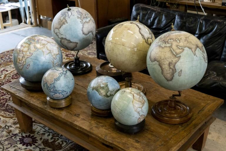 Based in London, Bellerby and Co turns out about 600 globes annually