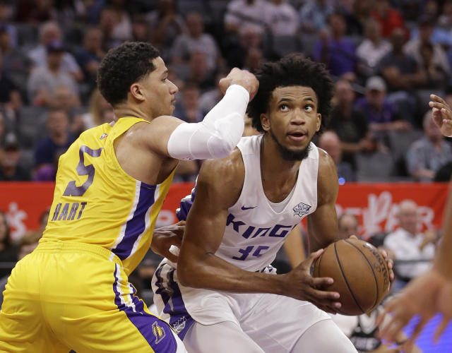 Marvin Bagley's underwhelming preseason did little to inspire confidence in his fantasy outlook. (AP Photo/Rich Pedroncelli)