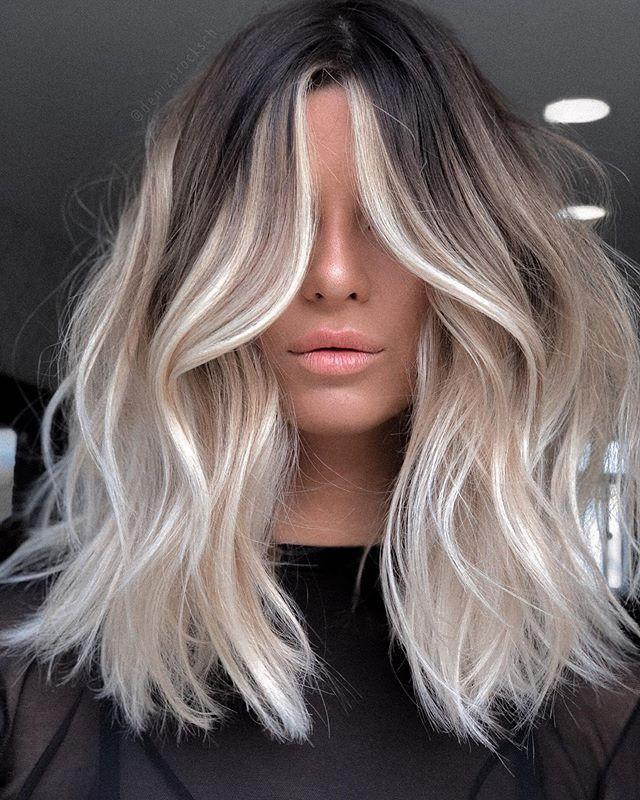 """<p>Low-maintenance blonde sounds like an oxymoron, but it doesn't have to be. Have your colorist paint your hair from the mid-lengths down while blending with your base. To really brighten up your face, make sure the face-framing pieces begin at the root. </p><p><a href=""""https://www.instagram.com/p/B_qRGv6A5kU/?utm_source=ig_embed&utm_campaign=loading"""" rel=""""nofollow noopener"""" target=""""_blank"""" data-ylk=""""slk:See the original post on Instagram"""" class=""""link rapid-noclick-resp"""">See the original post on Instagram</a></p>"""