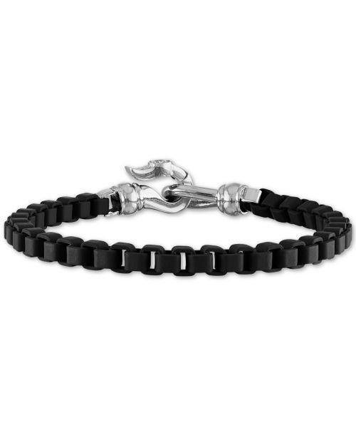 """<p><strong>Esquire Men's Jewelry</strong></p><p>macys.com</p><p><strong>$89.55</strong></p><p><a href=""""https://go.redirectingat.com?id=74968X1596630&url=https%3A%2F%2Fwww.macys.com%2Fshop%2Fproduct%2Fesquire-mens-jewelry-box-link-chain-bracelet-in-black-enamel-stainless-steel-also-in-red-blue-enamel-created-for-macys%3FID%3D10344647&sref=https%3A%2F%2Fwww.goodhousekeeping.com%2Fholidays%2Fgift-ideas%2Fg27116208%2Fbest-gifts-for-dads%2F"""" rel=""""nofollow noopener"""" target=""""_blank"""" data-ylk=""""slk:Shop Now"""" class=""""link rapid-noclick-resp"""">Shop Now</a></p>"""