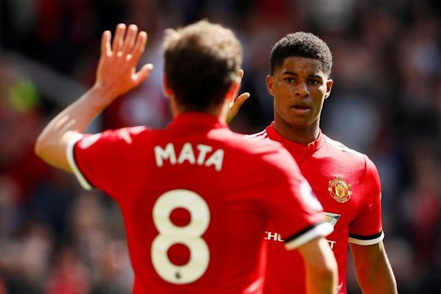 Manchester United 1 Watford 0: Marcus Rashford goal sees Jose Mourinho's side sign-off with a win