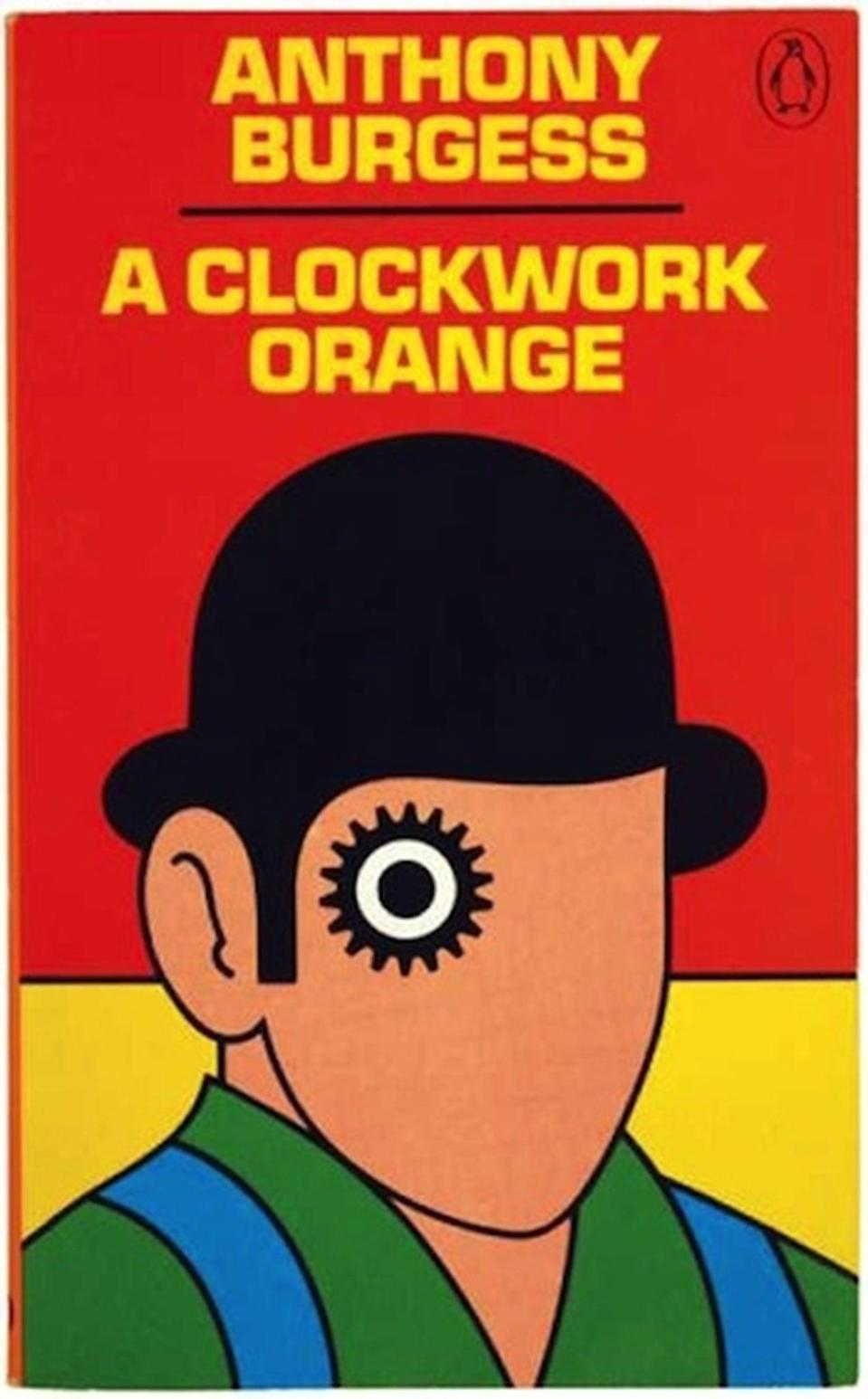 David Pelham came up with this famous cover ten years after A Clockwork Orange was first published in 1962.