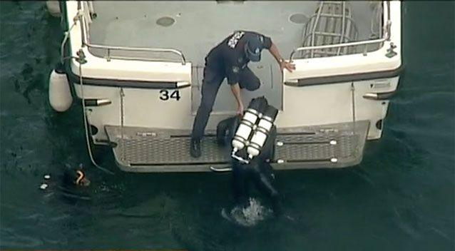 Police divers recovered the six bodies on Monday. Source: 7 News