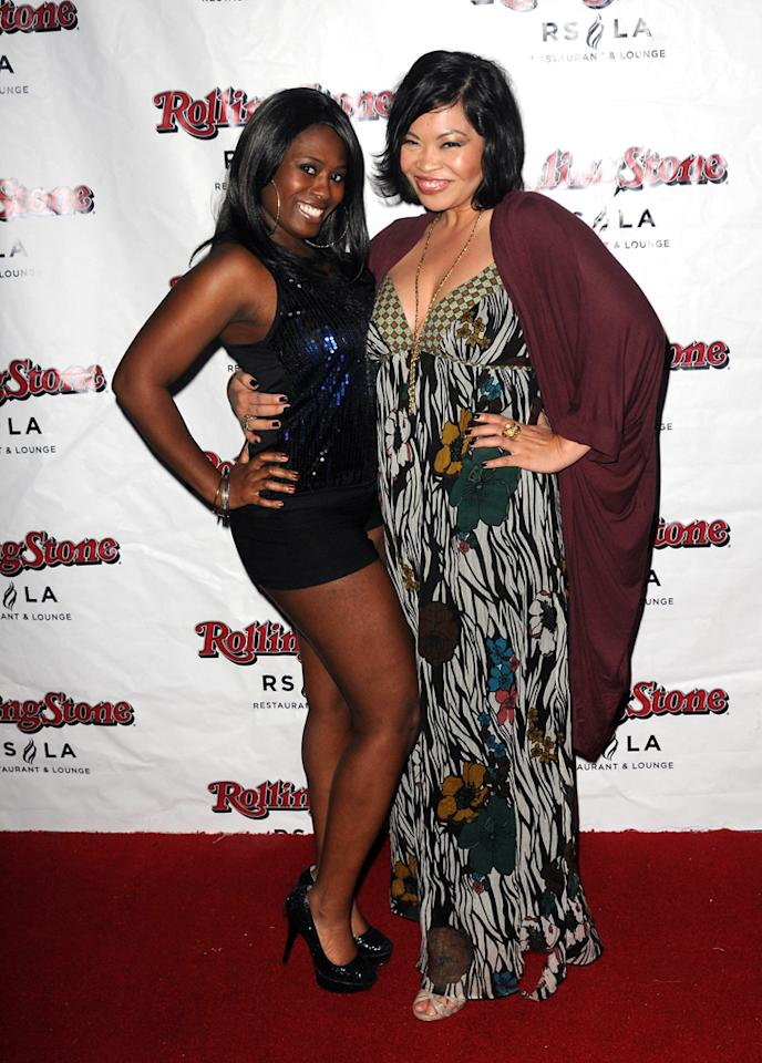"""Tennille Williams and Mae Flores attend Discovery TV's """"My Mom Is Obsessed"""" Screening Party  held at The Rolling Stone Restaurant & Lounge on April 30, 2012 in  Hollywood, California."""