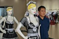 Chang Kailin, who runs a factory and is Lei's uncle, says the lingerie industry has helped people in the area shake off poverty