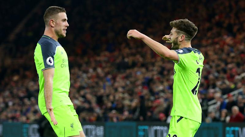 Liverpool boosted as Klopp reveals Henderson and Lallana nearing returns