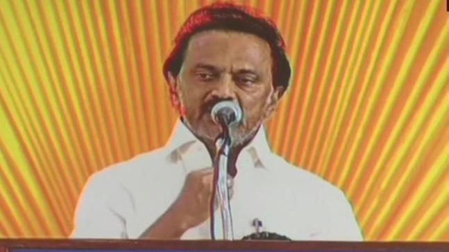 DMK's working president MK Stalin addressing the party's executive meeting in Chennai said that he cannot imagine running the party without his father Karunanidhi.