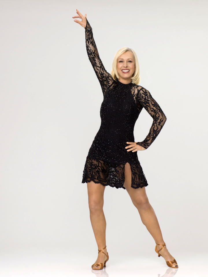 "Martina Navratilova competes on Season 14 of ""<a href=""http://tv.yahoo.com/dancing-with-the-stars/show/38356"">Dancing With the Stars</a>."""