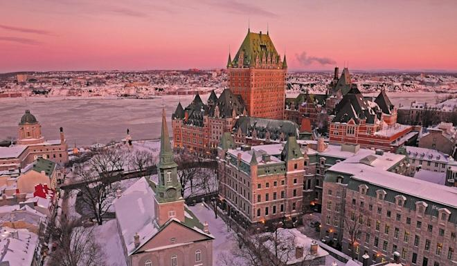 Quebec City may be one of Canada's most beautiful towns, but few of the rich Chinese immigrants who enter Canada under the Quebec Immigrant Investor Programme end up living there, or anywhere else in Quebec province. Photo: Jean-Francois Bergeron/Quebec City Tourism