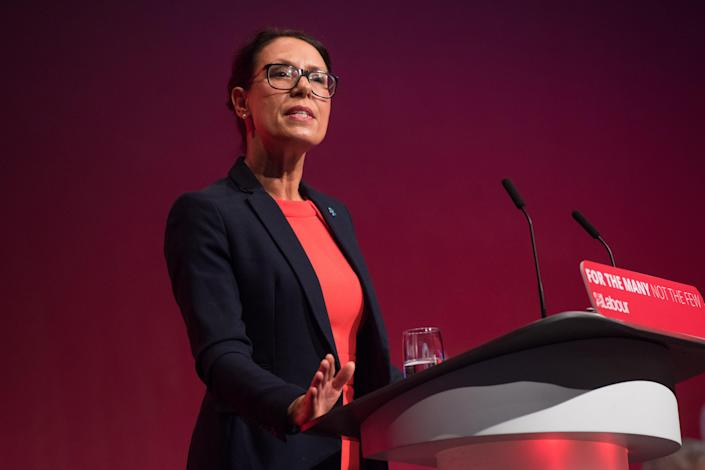 Debbie Abrahams pictured at the Labour Party conference in 2017 (Matt Crossick/ EMPICS Entertainment)