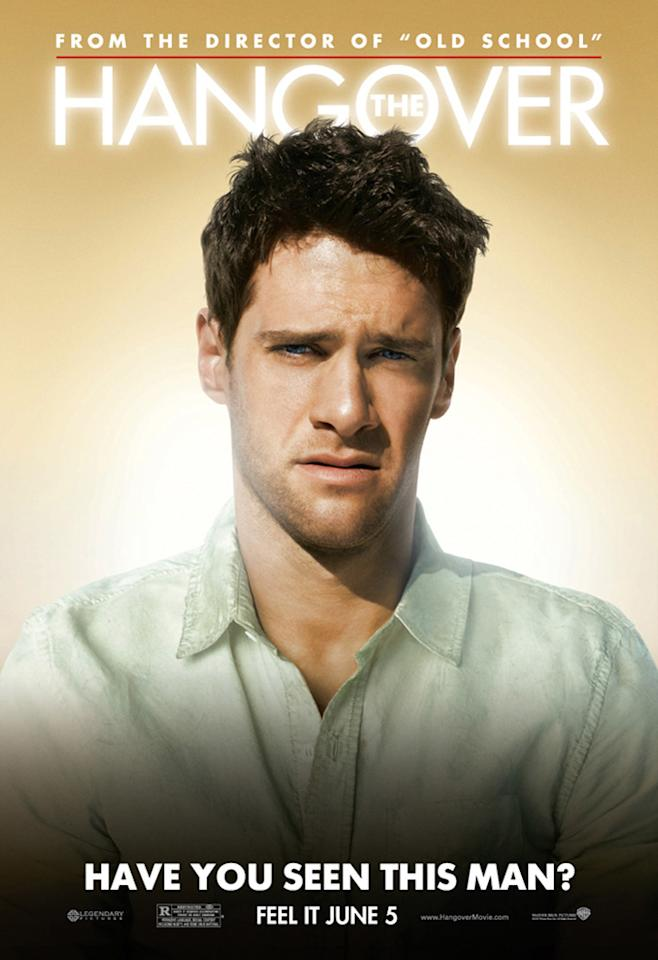 "<a href=""http://movies.yahoo.com/movie/contributor/1808458132"">Justin Bartha</a> in Warner Bros. Pictures' <a href=""http://movies.yahoo.com/movie/1810044687/info"">The Hangover</a> - 2009"