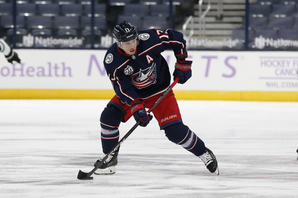 Columbus Blue Jackets' Cam Atkinson