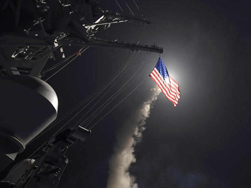 American military might has come too late to solve Syria's complex problems: AP