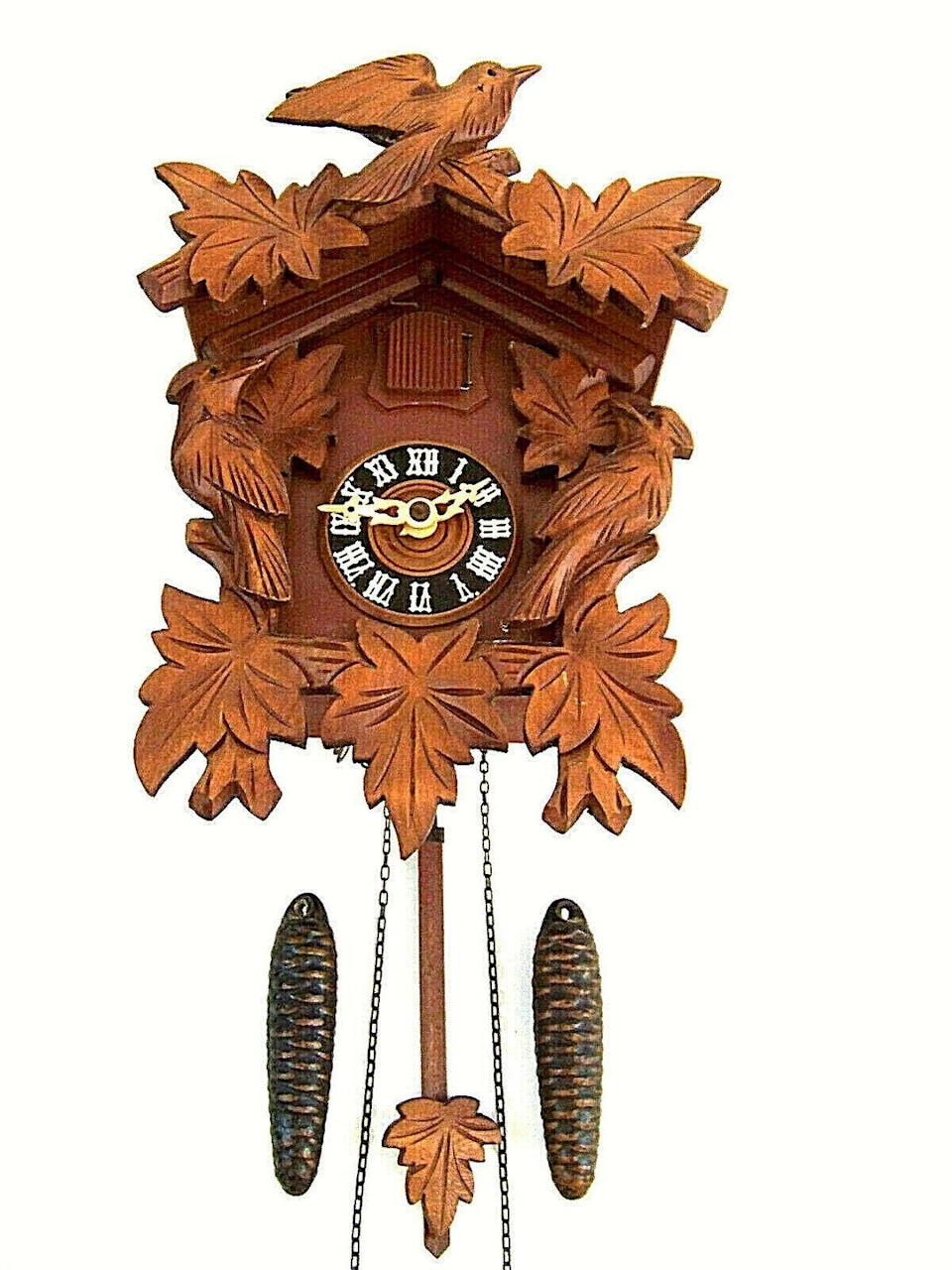 <p>If you visit Germany, you'll see cuckoo clocks in many stores, as they've become a cultural icon of the country. The creation in southwestern Germany spans back to the 1850s and have become quite a collector's item. Although the ones you see in souvenir shops today may take awhile to gain any value, check with your family members to see if they have picked one up in recent years. They've been resold at flea markets, so you could be sitting on a piece of treasure.<br></p><p><strong>What it's worth: </strong>$300</p>