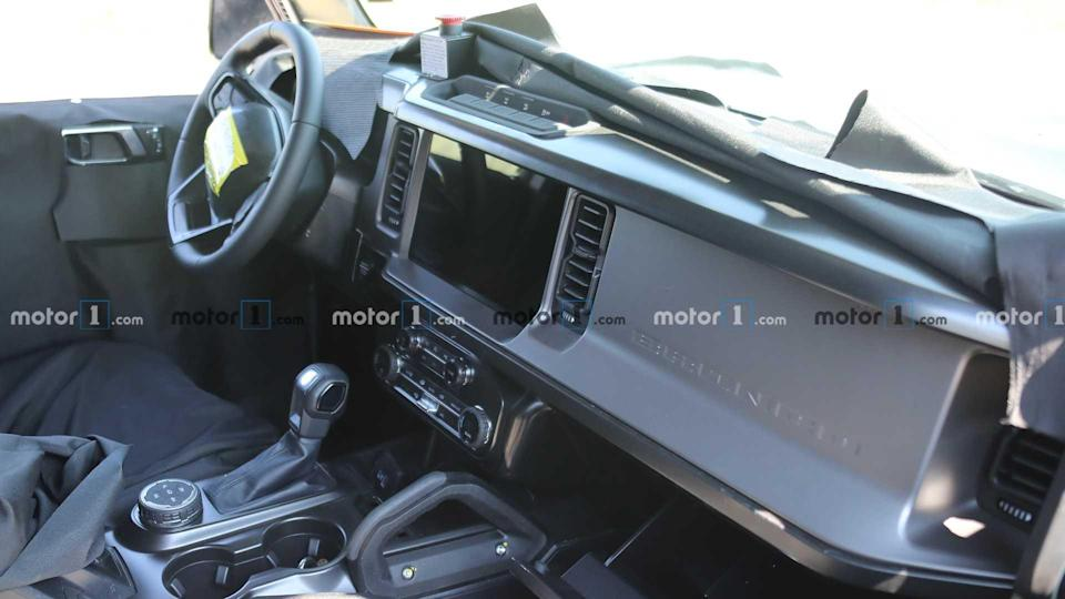 Ford Bronco 2021 - Flagra do interior