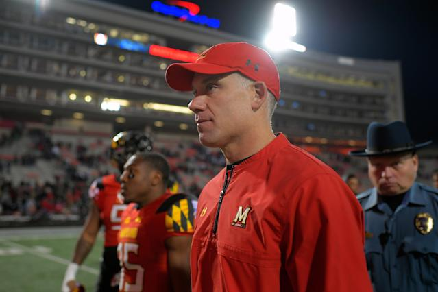 D.J. Durkin has been on administrative leave since August (Getty Images)