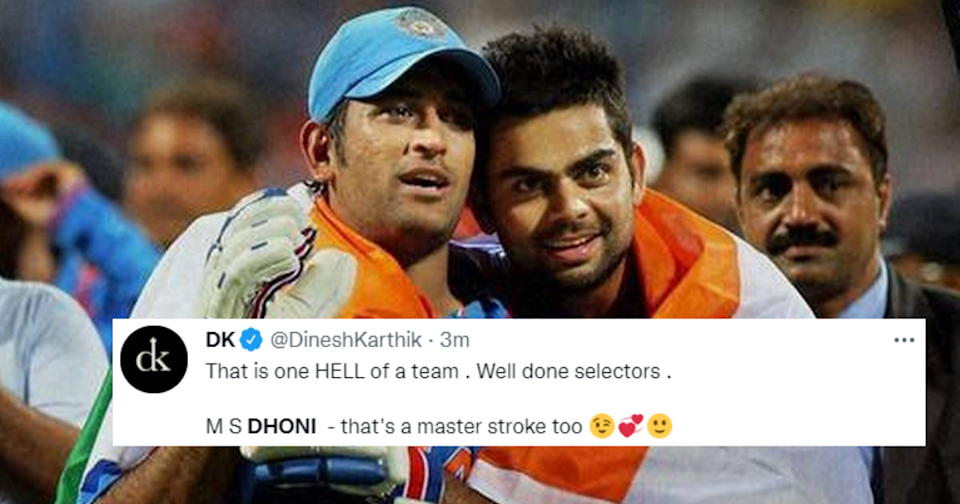 Twitter Erupts In Joy As BCCI Announces MS Dhoni As The Mentor Of Team India For T20 World Cup 2021