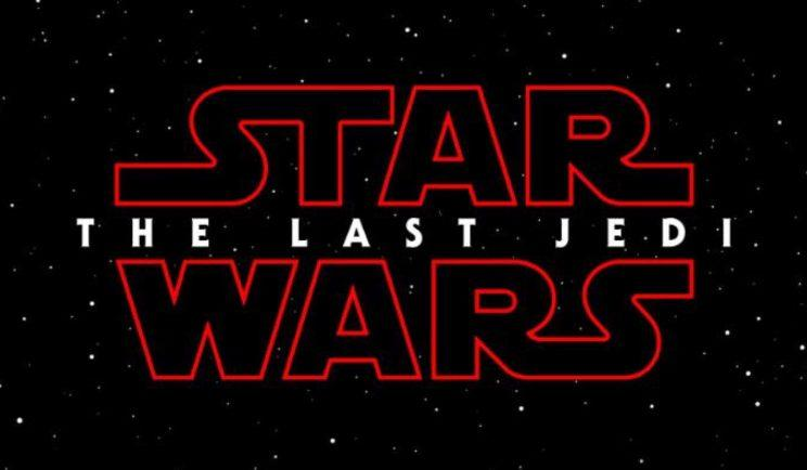 The logo for 'Star Wars: The Last Jedi'. (credit: LucasFilm)