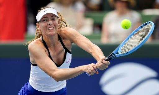 Maria Sharapova and Laura Siegemund agreed to call their match to an early halt