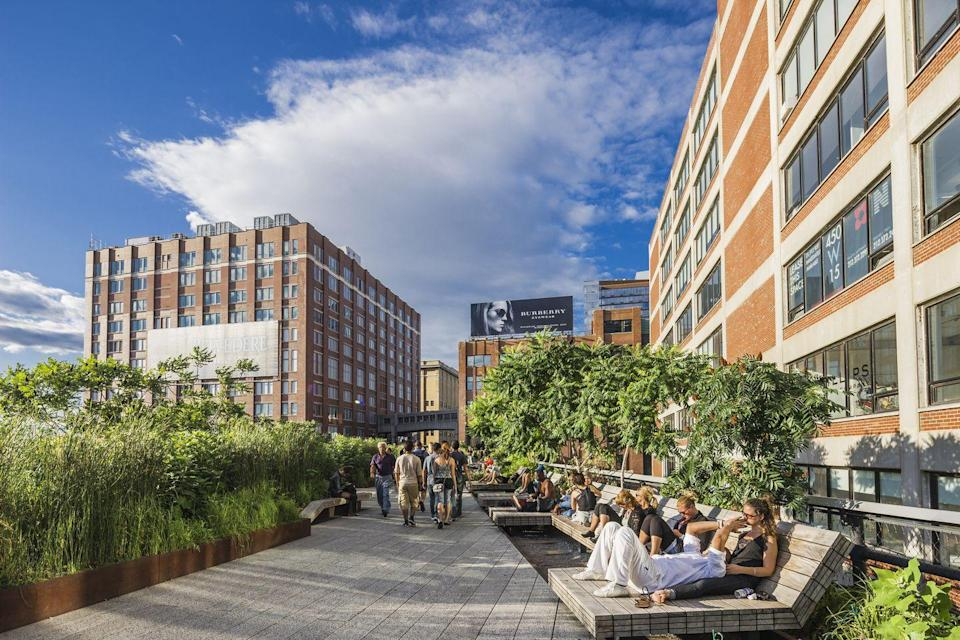 """<p>""""After walking through Chelsea Market, which spans an entire city block, head up to the High Line, an elevated park on former train tracks.""""—<em>Jamie Rosen, Contributing Editor</em></p>"""