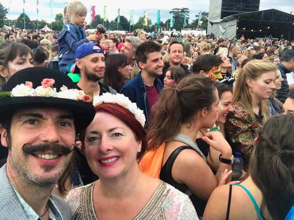 <em>Mr Cameron has previously been spotted photobombing a couple at Wilderness Festival (SWNS)</em>