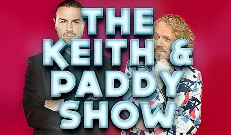 Paddy and Keith will be spoofing some of their favourite films for the ITV series (Copyright: ITV)