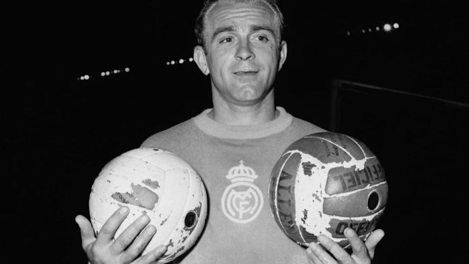 SOCCER-REAL MADRID-ALFREDO DI STEFANO | STAFF/Getty Images