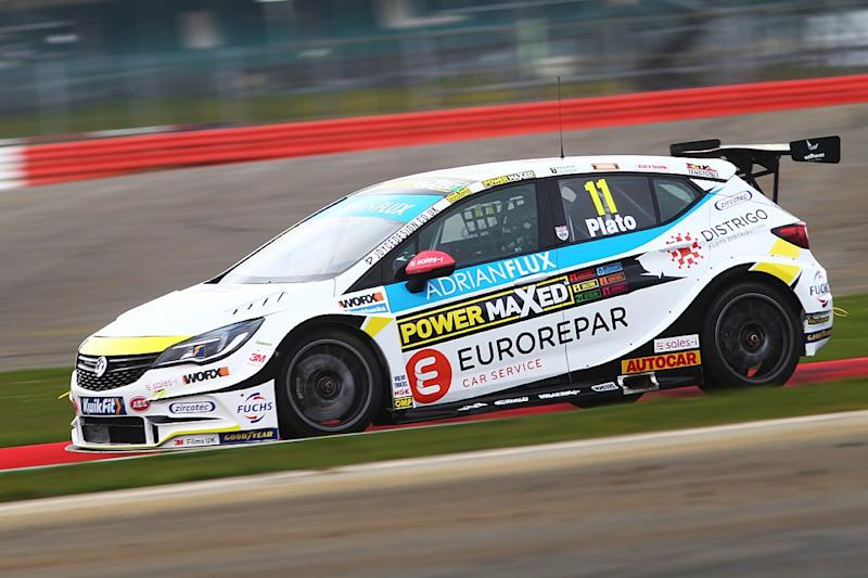 Plato out of 2020 BTCC season with Vauxhall