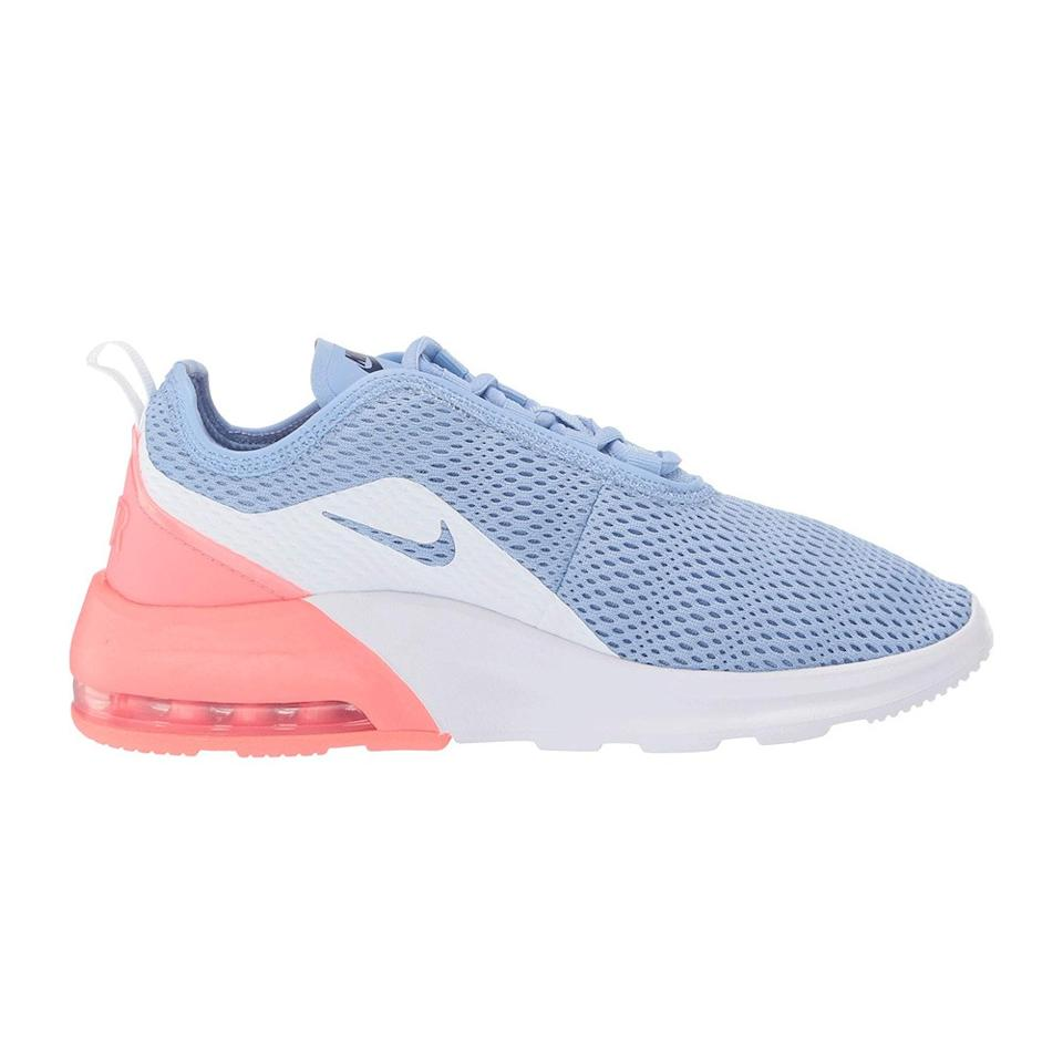 """<p>You'll never have trouble picking out these Air Maxes in a lineup, though there are some subtler colorways on sale too: they come with a mesh upper to help you avoid swamp feet in summer and added cushioning to soften the impact on your heels.</p> <p><strong>Buy it:</strong> $64 (originally $85), <a href=""""https://www.zappos.com/p/nike-air-max-motion-2-aluminum-black-white-lave-glow/product/9139082/color/791798"""" rel=""""nofollow"""">zappos.com</a></p>"""