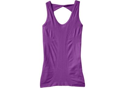 "<div class=""caption-credit""> Photo by: Rodale</div><div class=""caption-title""></div><b>Athleta Organic Cotton Tola Tank</b> ($44, athleta.gap.com) This seamless organic cotton top brings eco-conscious comfort to your workout. The soft, stretchy fabric is form-fitting and flattering and the back design details won't show your sports bra. This wicking shirt stays in place and feels great whether you're stretching out in downward-facing dog or logging miles around the track. <b><a rel=""nofollow"" target=""_blank"" href=""http://www.prevention.com/download-belly-fat-blasting-walking-workout?cm_mmc=Yahoo_Blog-_-PVN_Shine-_-15%20Green%20Workout%20Looks-_-Belly%20Fat%20Blasting%20Workout%20EC"">Blast Belly Fat with This Walking Workout</a></b>"