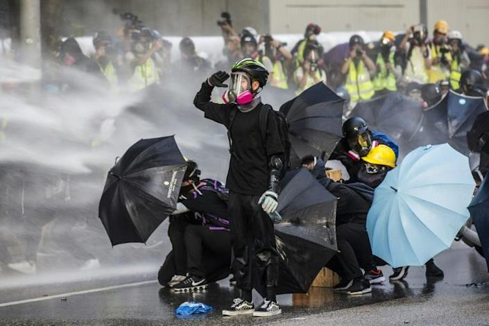 Hong Kong's government has offered few concessions after six months of protests, which have turned increasingly violent (AFP Photo/ISAAC LAWRENCE)