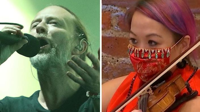 Radiohead and London Symphony Orchestra are two examples of big British music exports that tour Europe