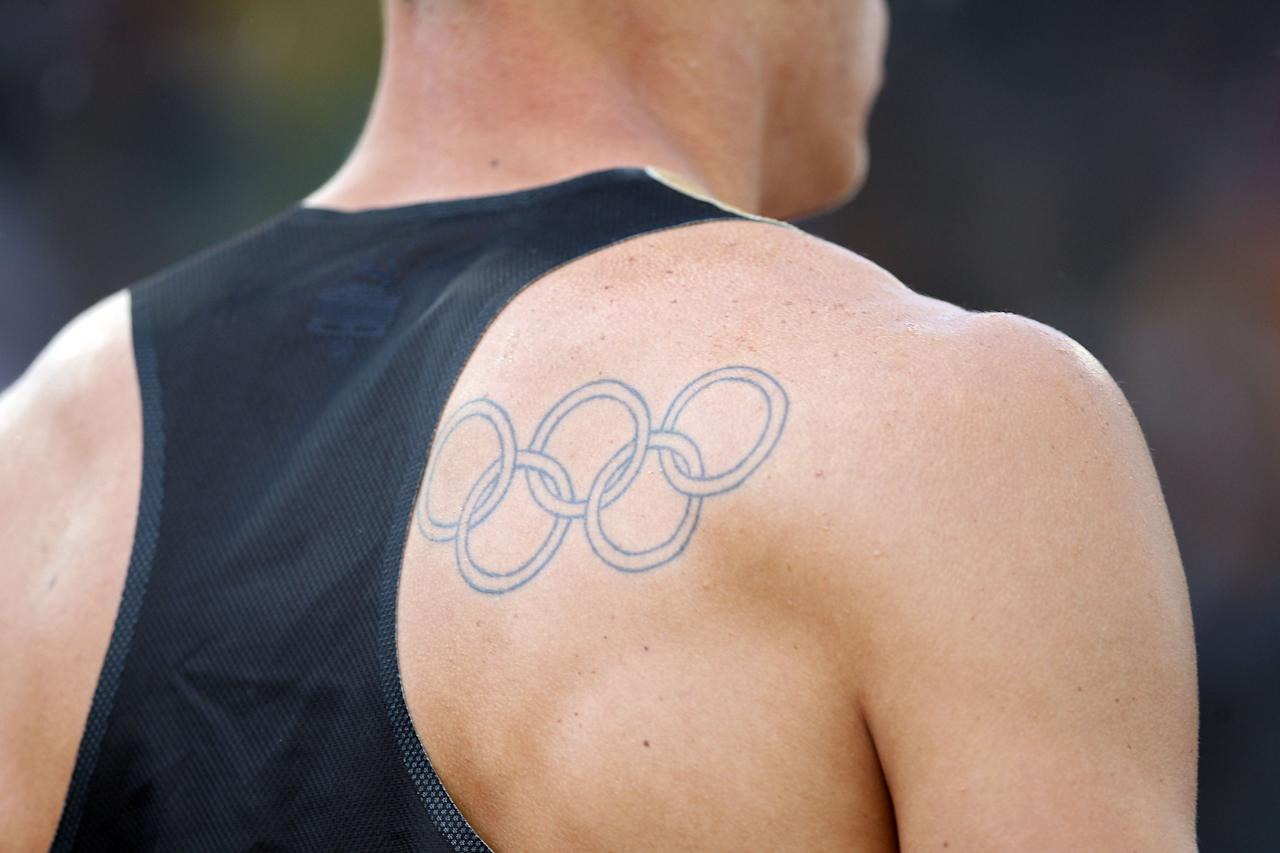 athletes and their olympic tattoos. Black Bedroom Furniture Sets. Home Design Ideas
