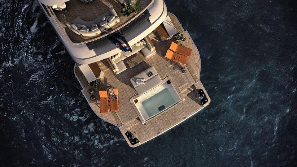 Rebeca is Benetti's new Oasis 40M superyacht