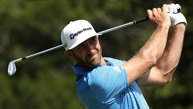 Dustin Johnson will be able to rest ahead of next week's Masters after withdrawing from the Shell Houston Open.