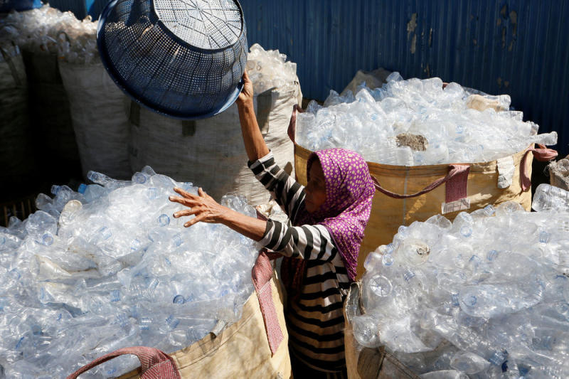 Pepsi Turns To Sawdust For Help With Its Plastic Problem