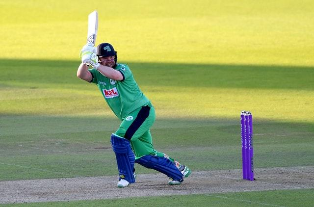 Paul Stirling's century played a big part in Ireland's win
