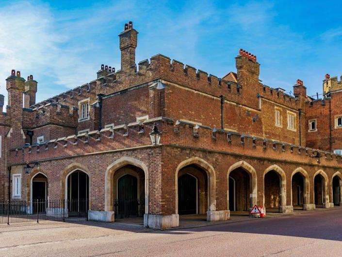 St James's Palace in London.