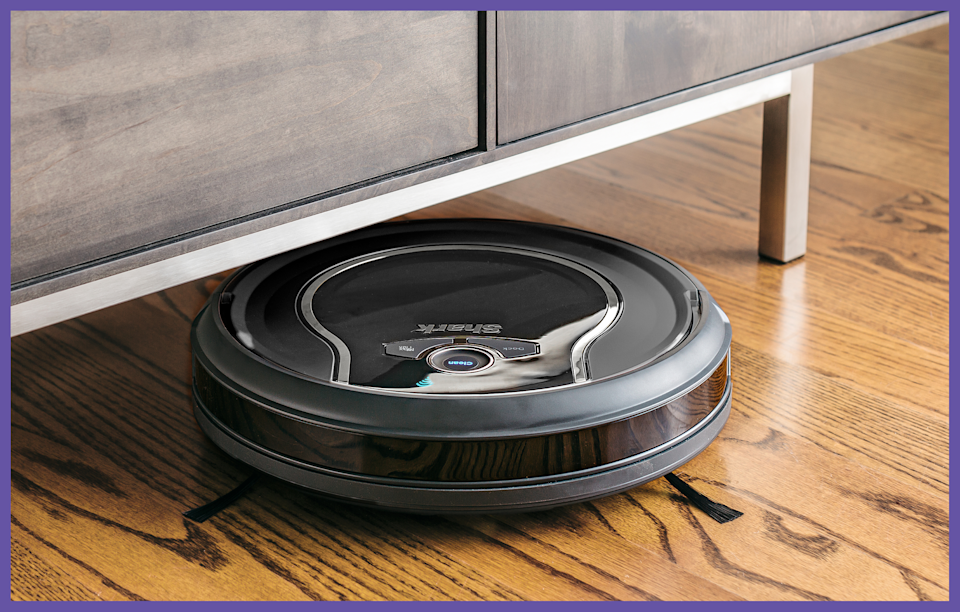 This Shark ION Robot Vacuum (RV750) is on sale  for $149, or $150 off. (Photo: Walmart)