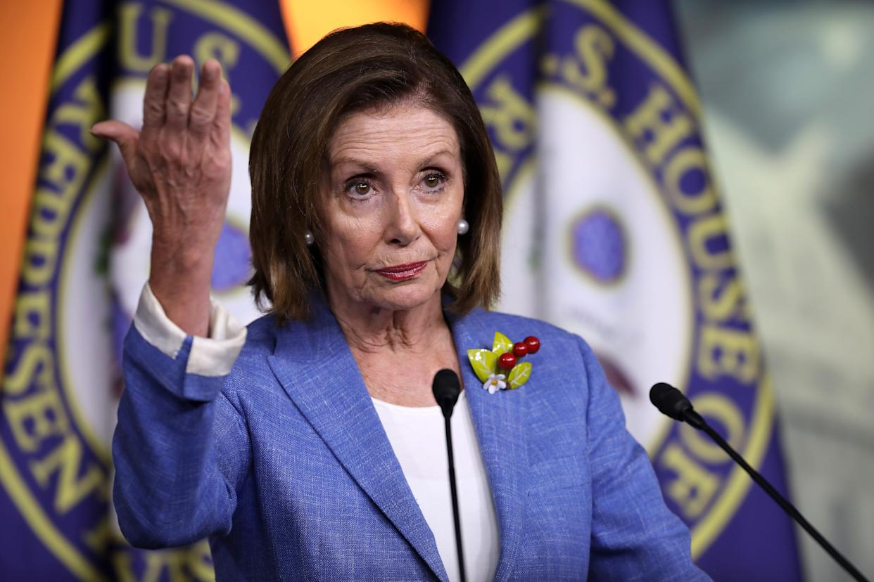House Speaker Nancy Pelosi has been reluctant to start impeachment proceedings against President Trump.