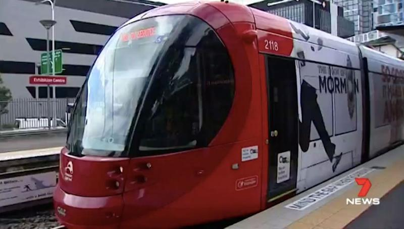 Contactless payment for Sydney's light rail system is now up and running. Source: 7 News