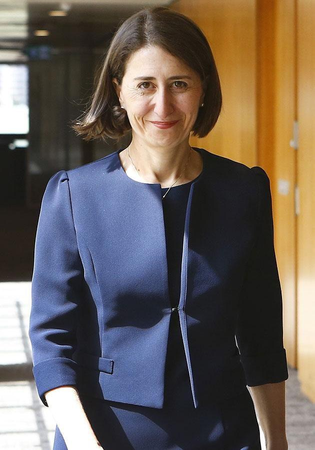 Gladys Berejiklian was appointed yesterday after Mike Baird quit. Source: Getty