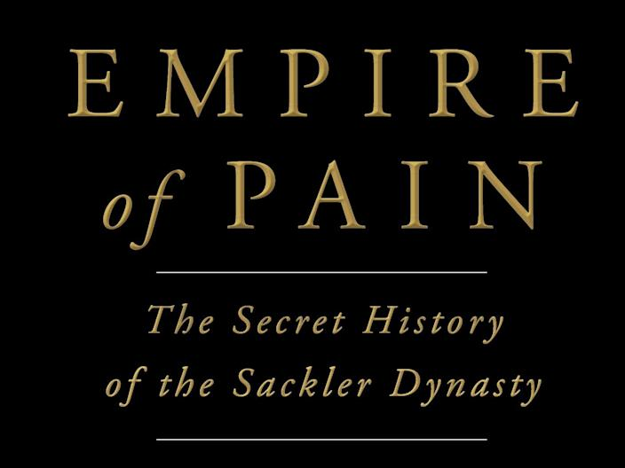 Empire of Pain purdue pharma opioid sackler oxycontin